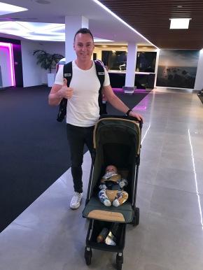 Frankie & Christian off to USA
